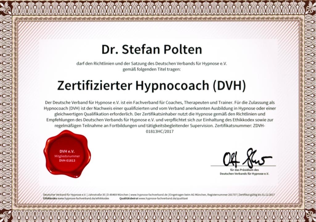 Zertifikat DVH