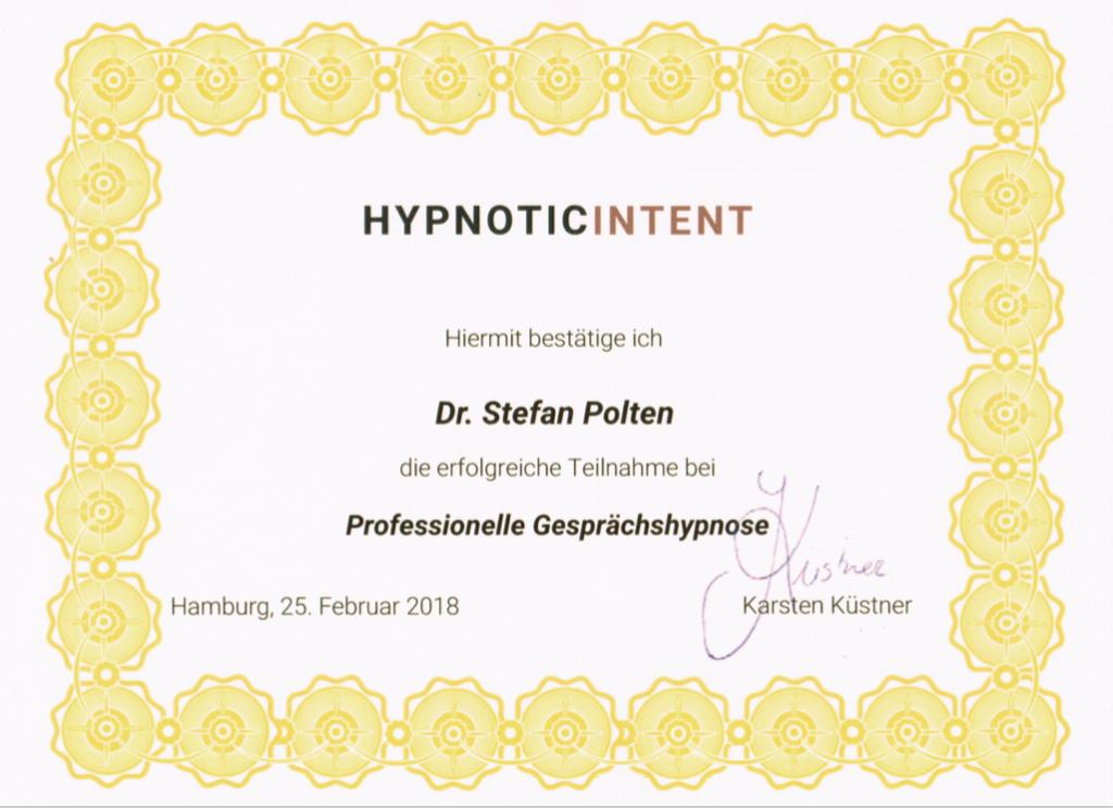 Zertifikat Professionelle Gesprächshypnose