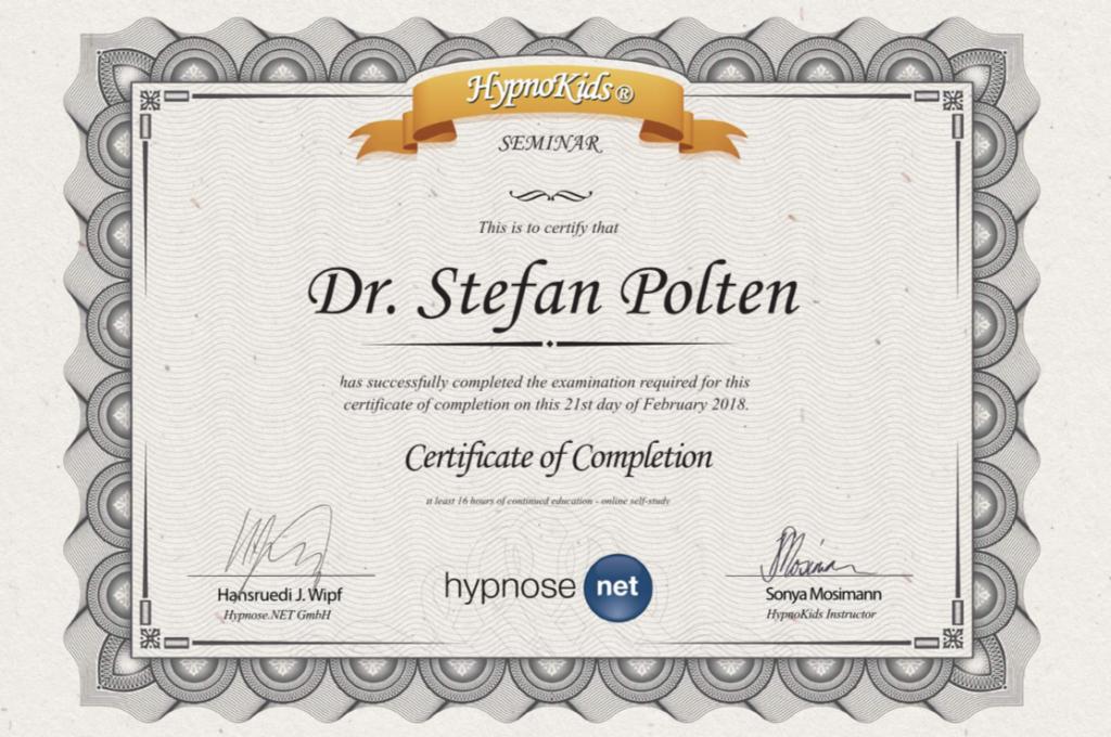 Zertifikat HypnoKids®